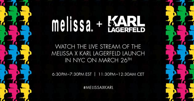 Melissa x Karl Lagerfeld Launch