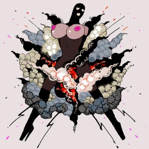 "Nocando's ""Tits & Explosions"" cover"