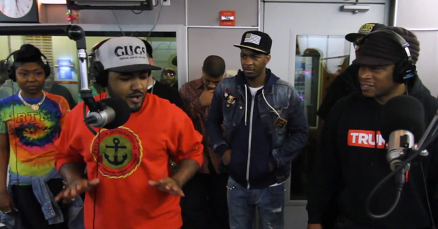 "Lyriciss' ""Sway In The Morning"" Freestyle"