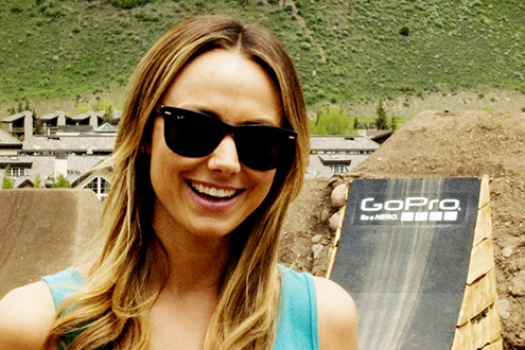 Photos: Stacy Keibler Joins Eddie Bauer at the Mountain Games in Vail