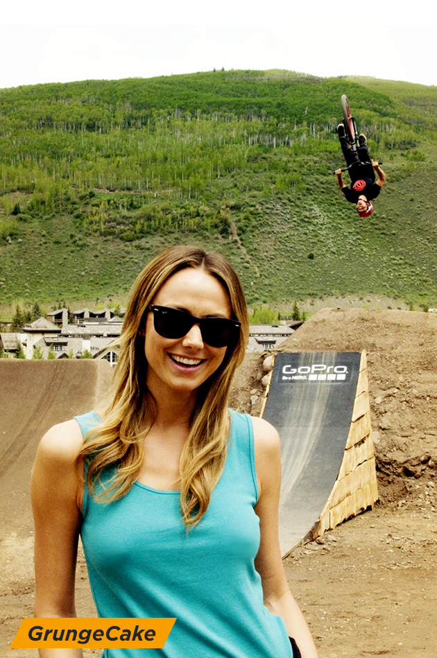 Stacy Keibler at GoPro