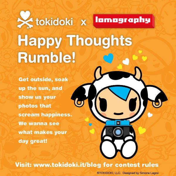 tokidoki x Lomography