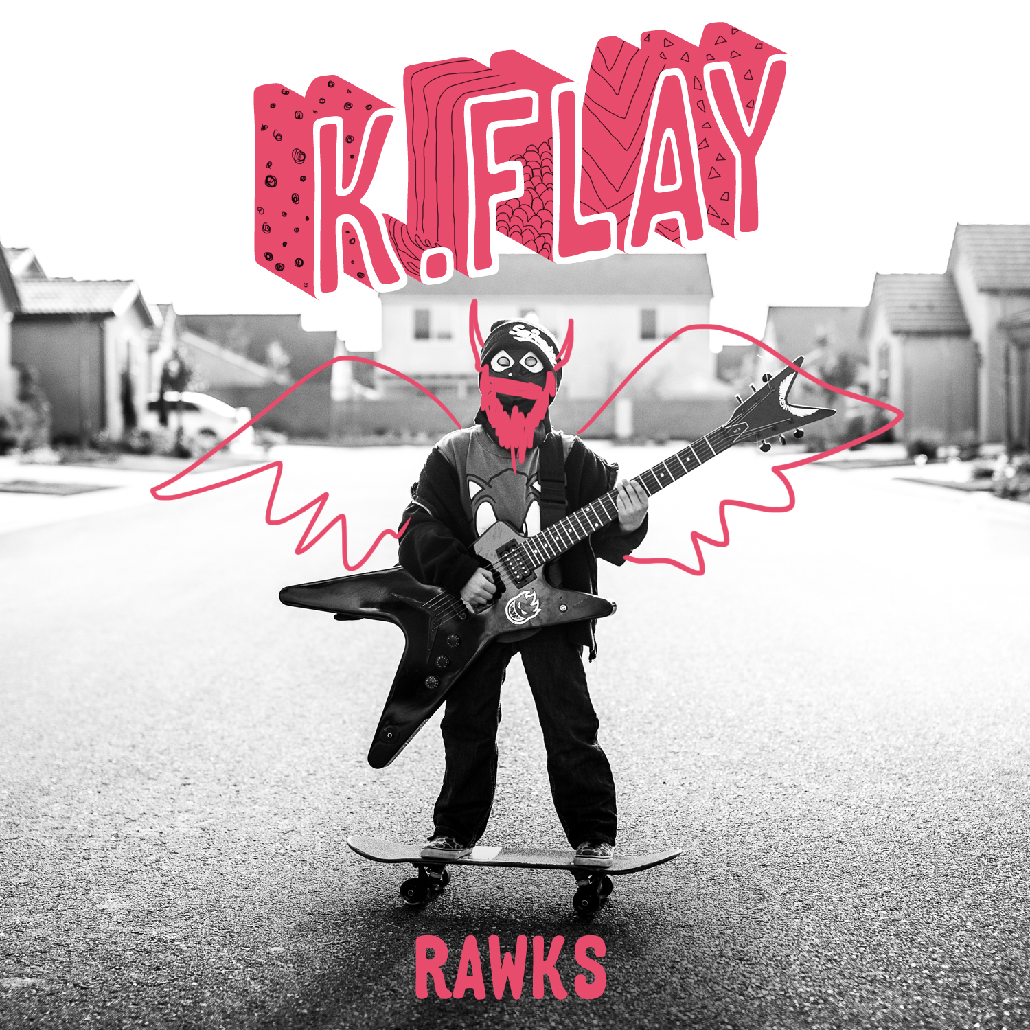 "k.flay's ""RAWKS"" cover art"