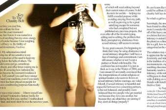 From The Pages: Key To The Chastity Belt