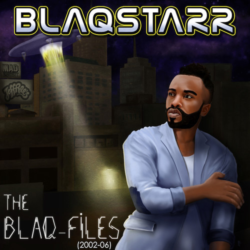Blaqstarr's Blaq Files EP artwork