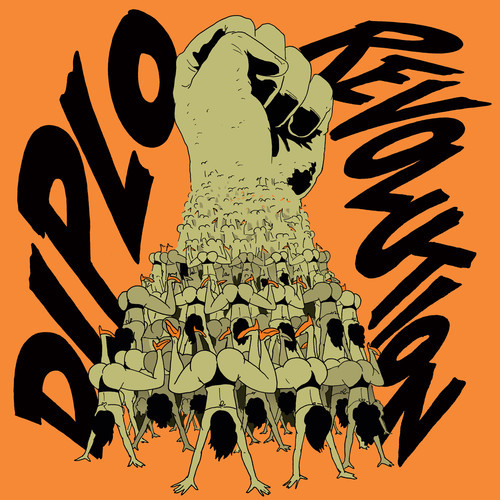"Diplo's ""Revolution EP"" artwork"