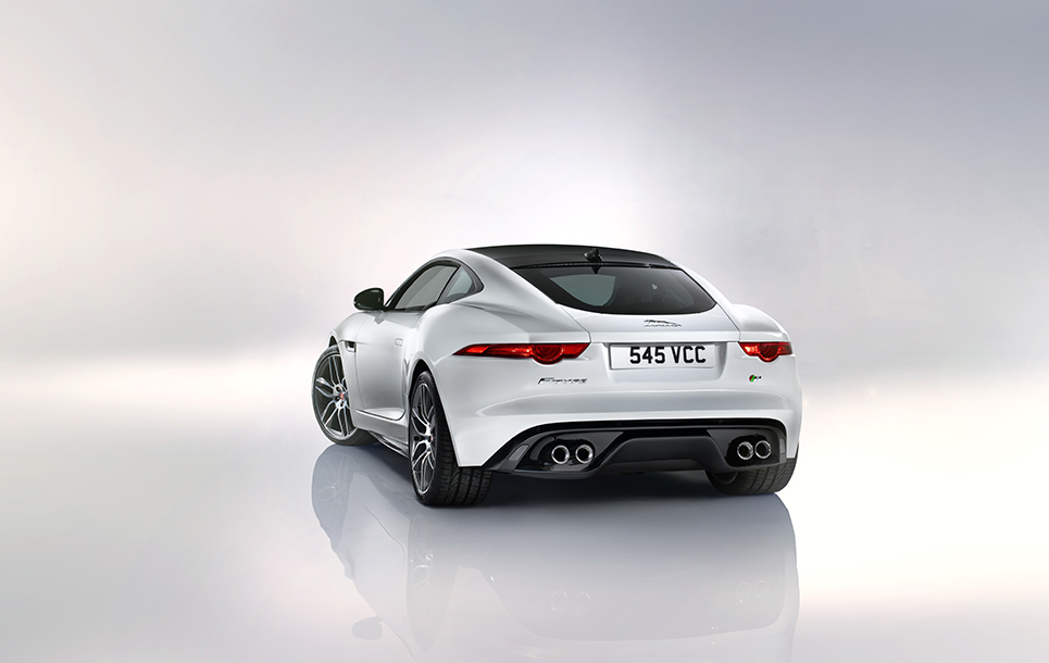 Jaguar F-TYPE Coupé (Back)