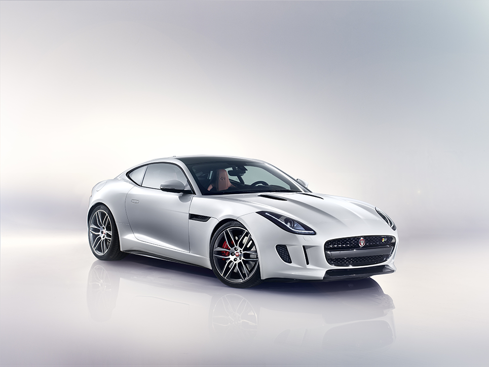 Jaguar F-TYPE Coupé (Front)