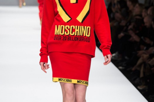 Junk Food Couture: Jeremy Scott's Fall 2014 RTW Collection For Moschino