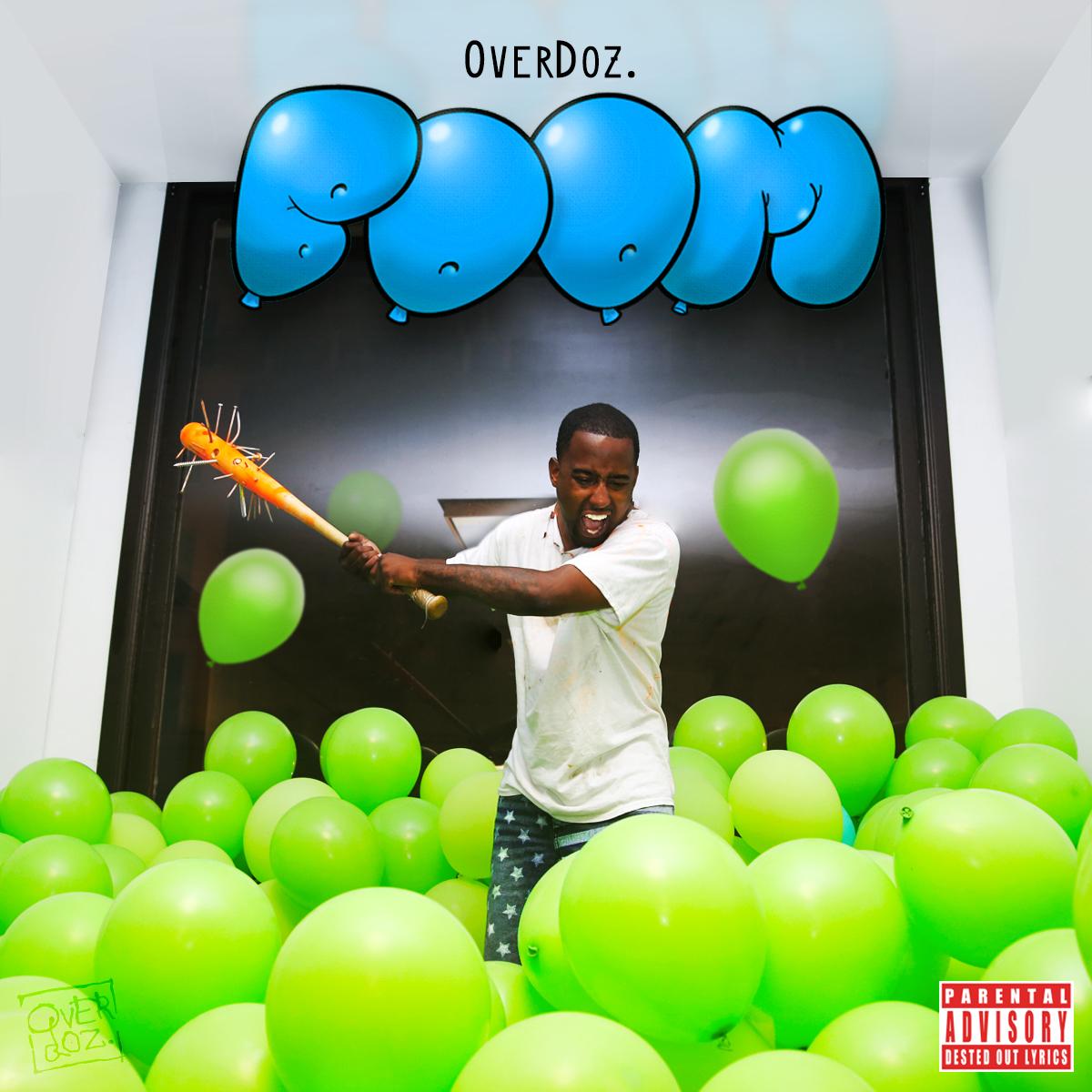 """OverDoz.'s """"Boom"""" cover art"""