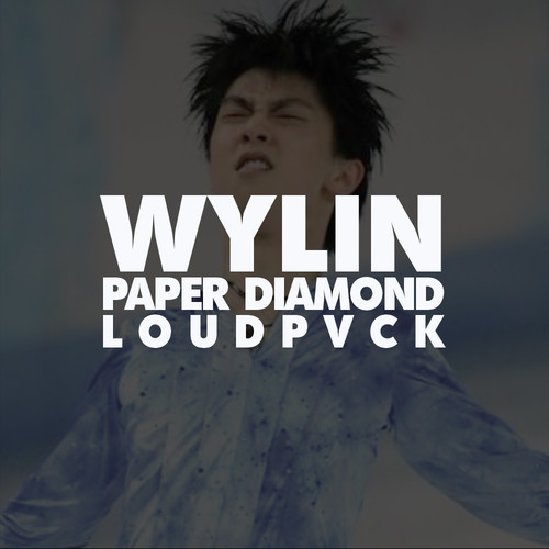 "Paper Diamond & Loudpvck's ""Wylin"" cover art"