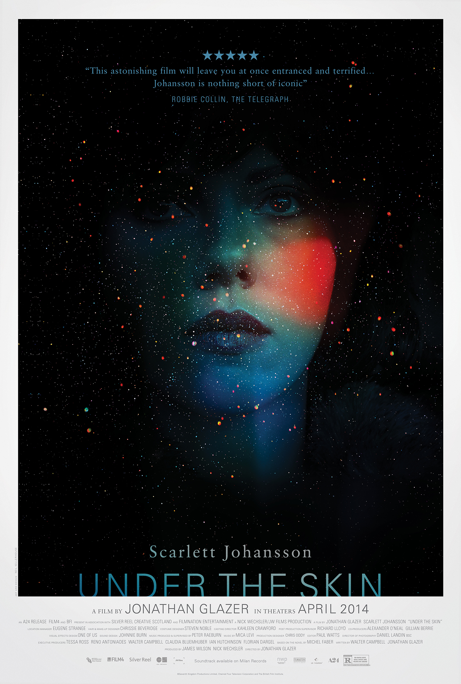 (Scarlett Johansson) Under The Skin movie poster