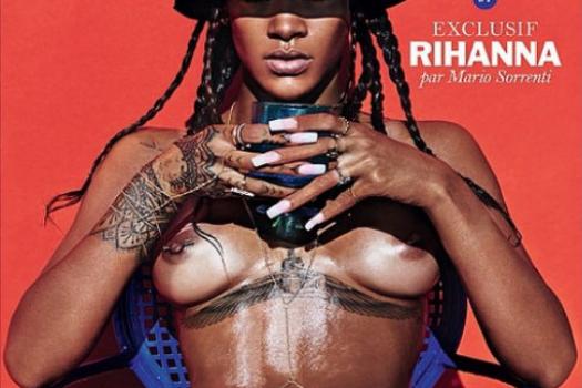Rihanna's Full Monty in Lui Magazine