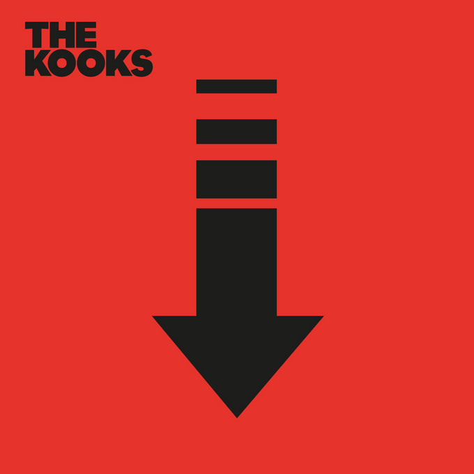 "The Kooks' ""Down"" EP cover"