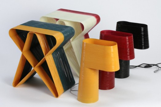 First 3D Printing, Now Woven Furniture By AndreandShay