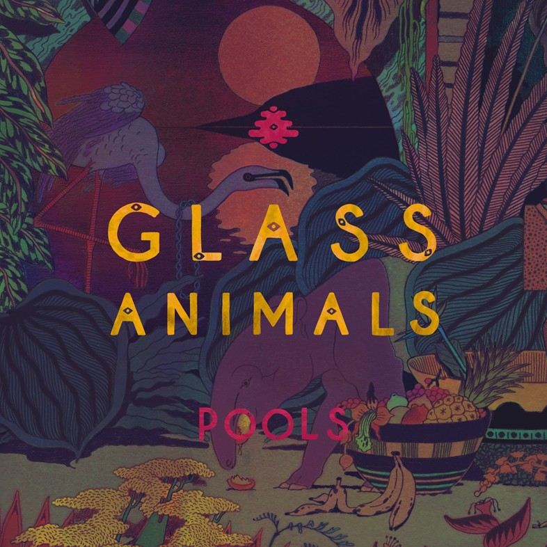 """Glass Animals' """"Pools"""" cover art"""
