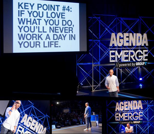Jeff Staples at Agenda Emerge