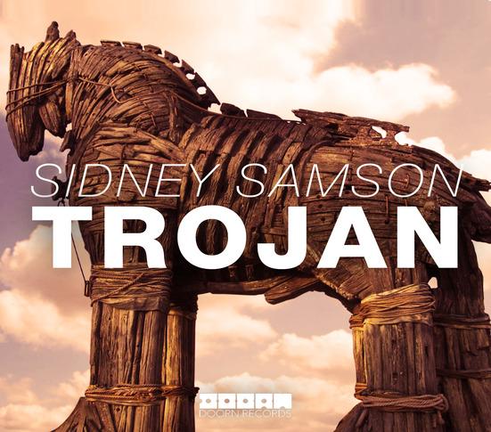 """Sidney Samson's """"Trojan"""" cover art"""