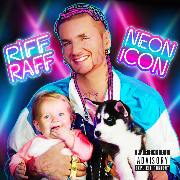"RiFF RaFF's ""NEON iCON"" cover art"