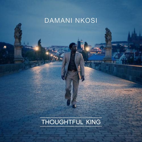"""Damani Nkosi's """"Thoughtful King"""" cover art"""