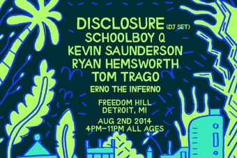"Disclosure Announce Wild Life Detroit Show, Shares ""Good Kisser"" Remix"