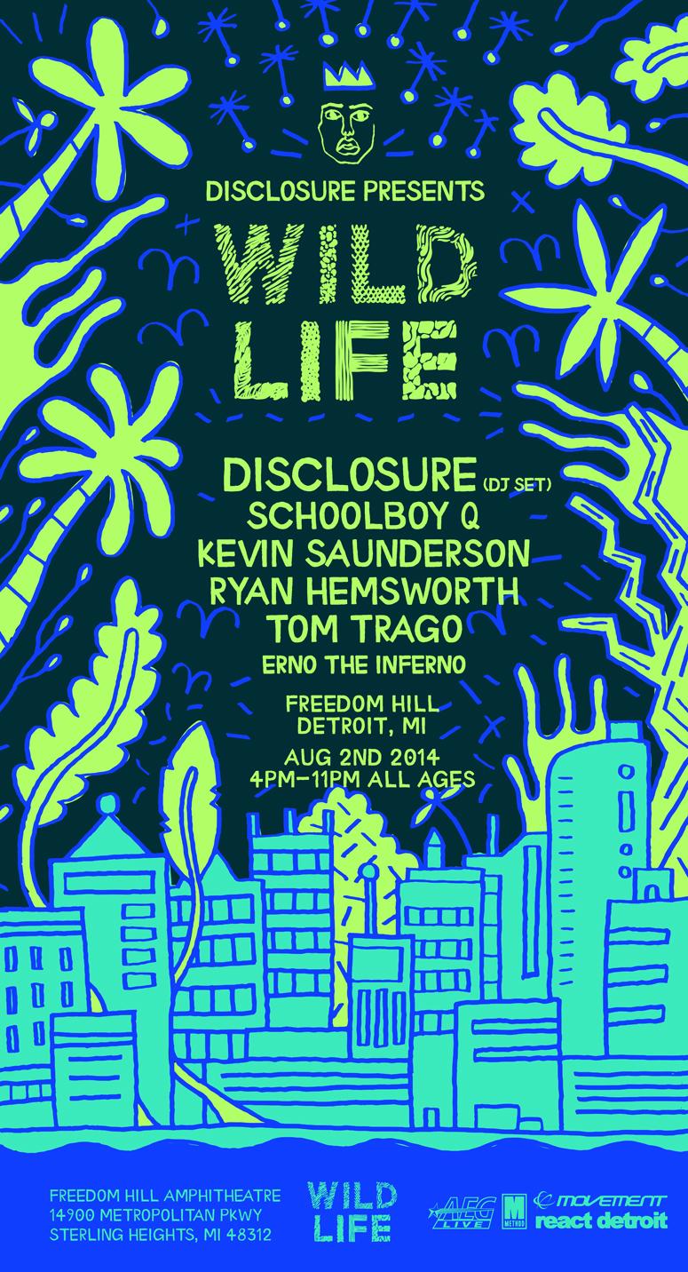 Disclosure Wild Life promo image