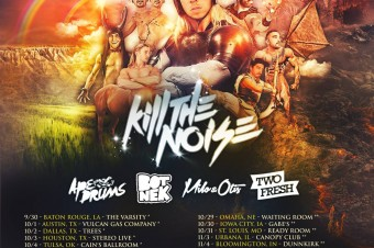"Kill The Noise Reveals ""Majestic As Fak"" Tour Dates"