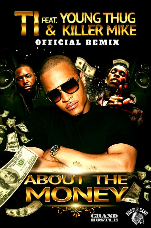 """About The Money"" remix cover art"