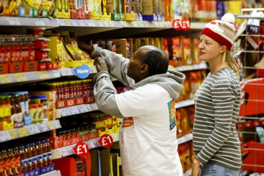 A Third of British Adults Generously Donate Food Over Christmas
