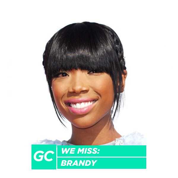 We Miss: Brandy