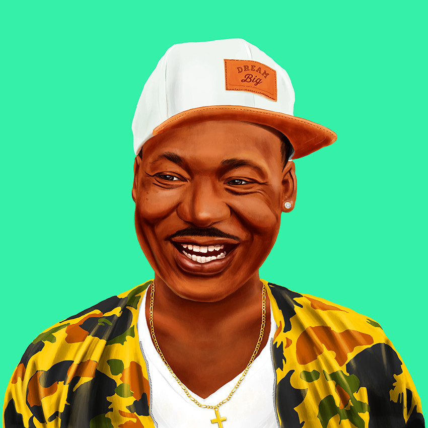 Martin Luther King, Jr. by Amit Shimoni