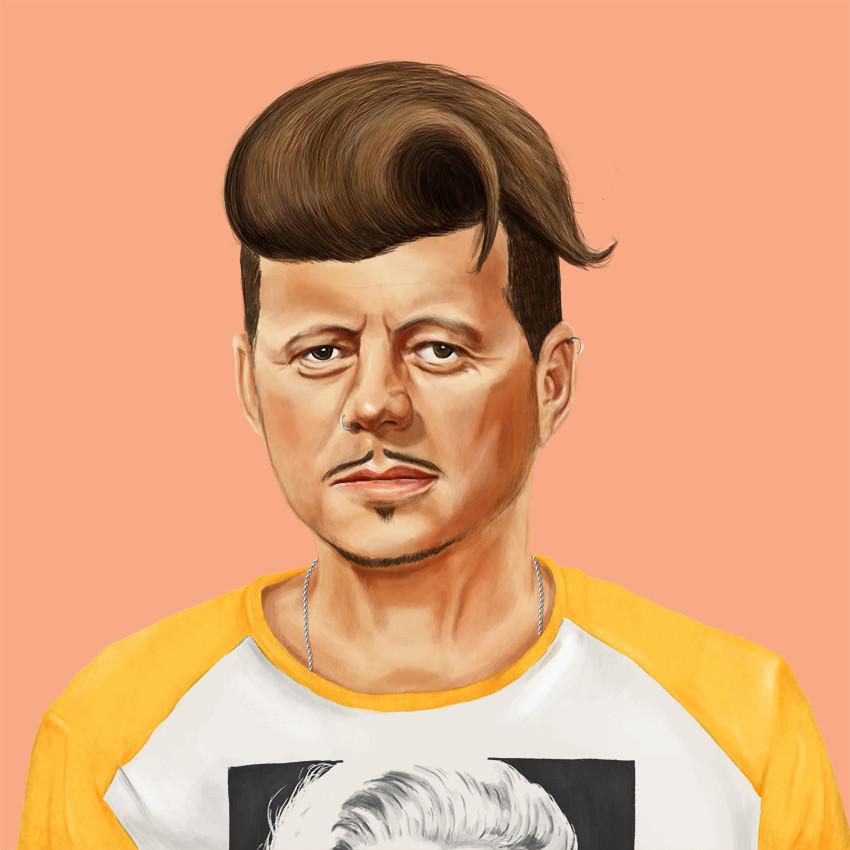 Robert F. Kennedy by Amit Shimoni