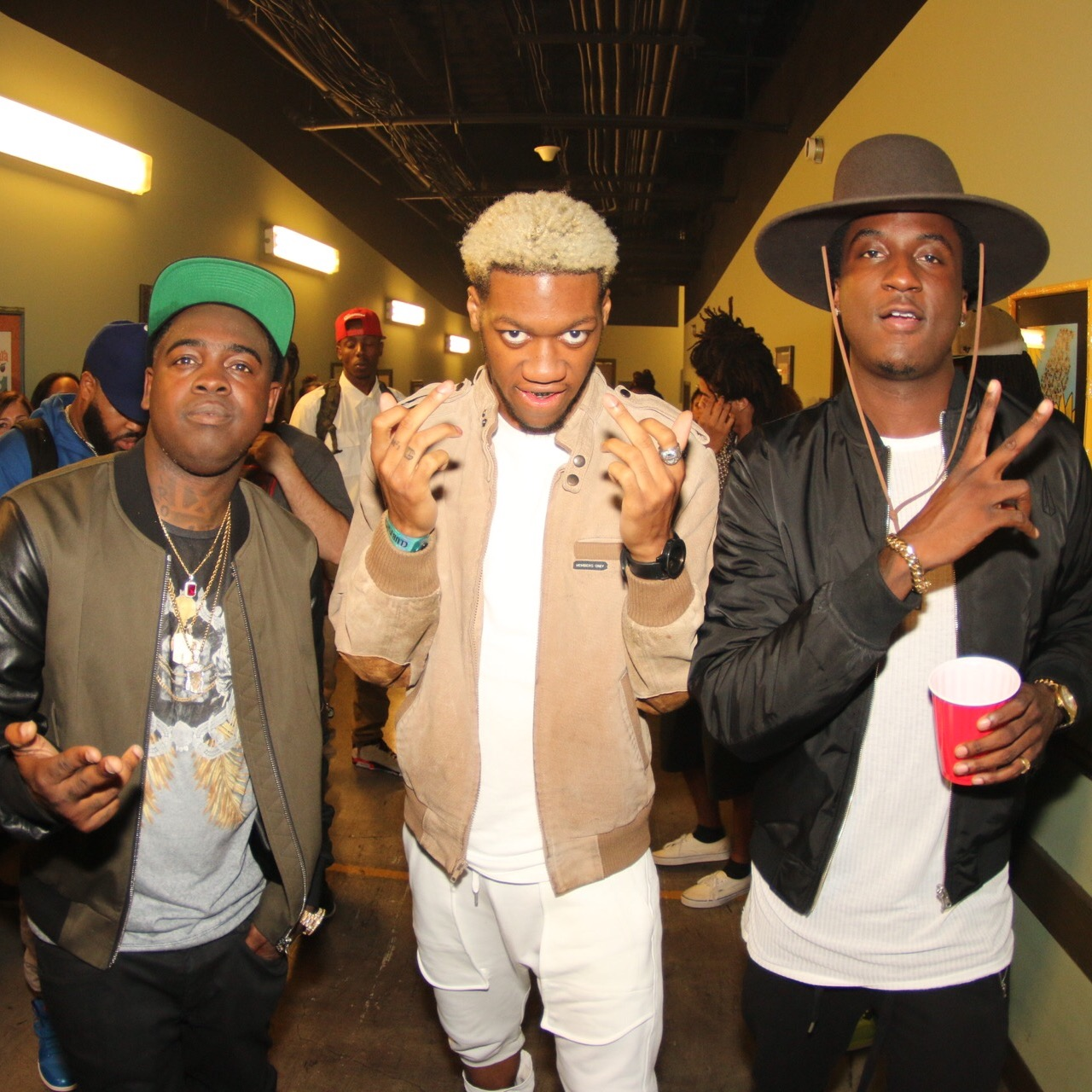 Kidd Kidd, Og Maco and K Camp | Courtesy of XXL
