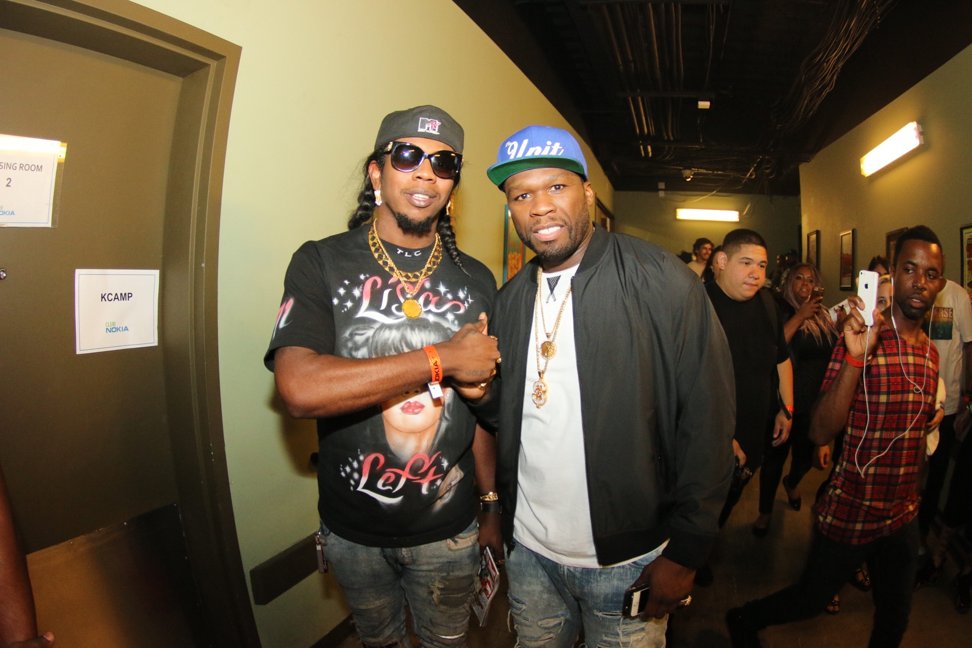 Trinidad James and 50 Cent | Courtesy of XXL