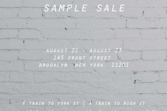 10.DEEP Sample Sale, This Weekend