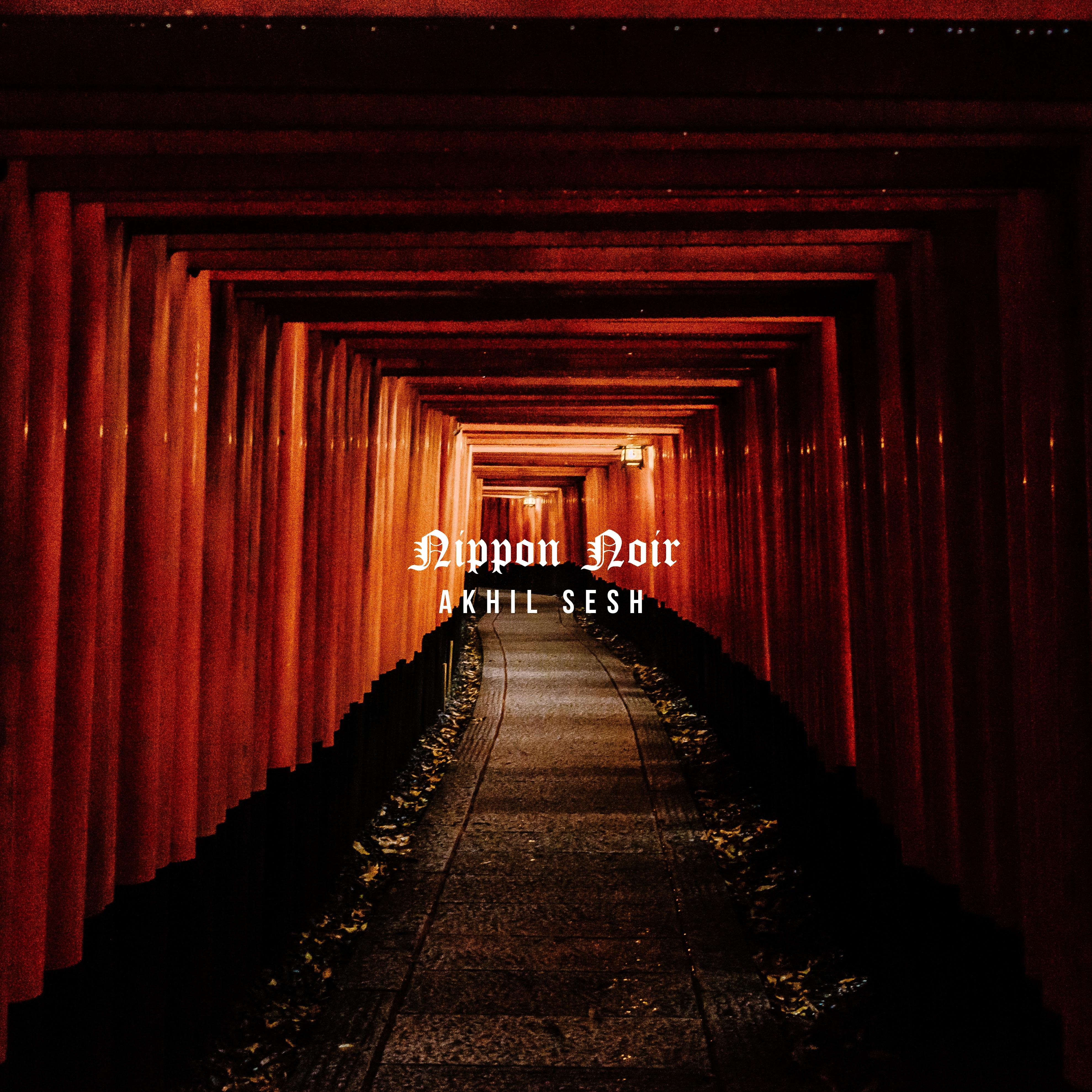 """Akhil Sesh's """"Nippon Noir"""" cover art"""