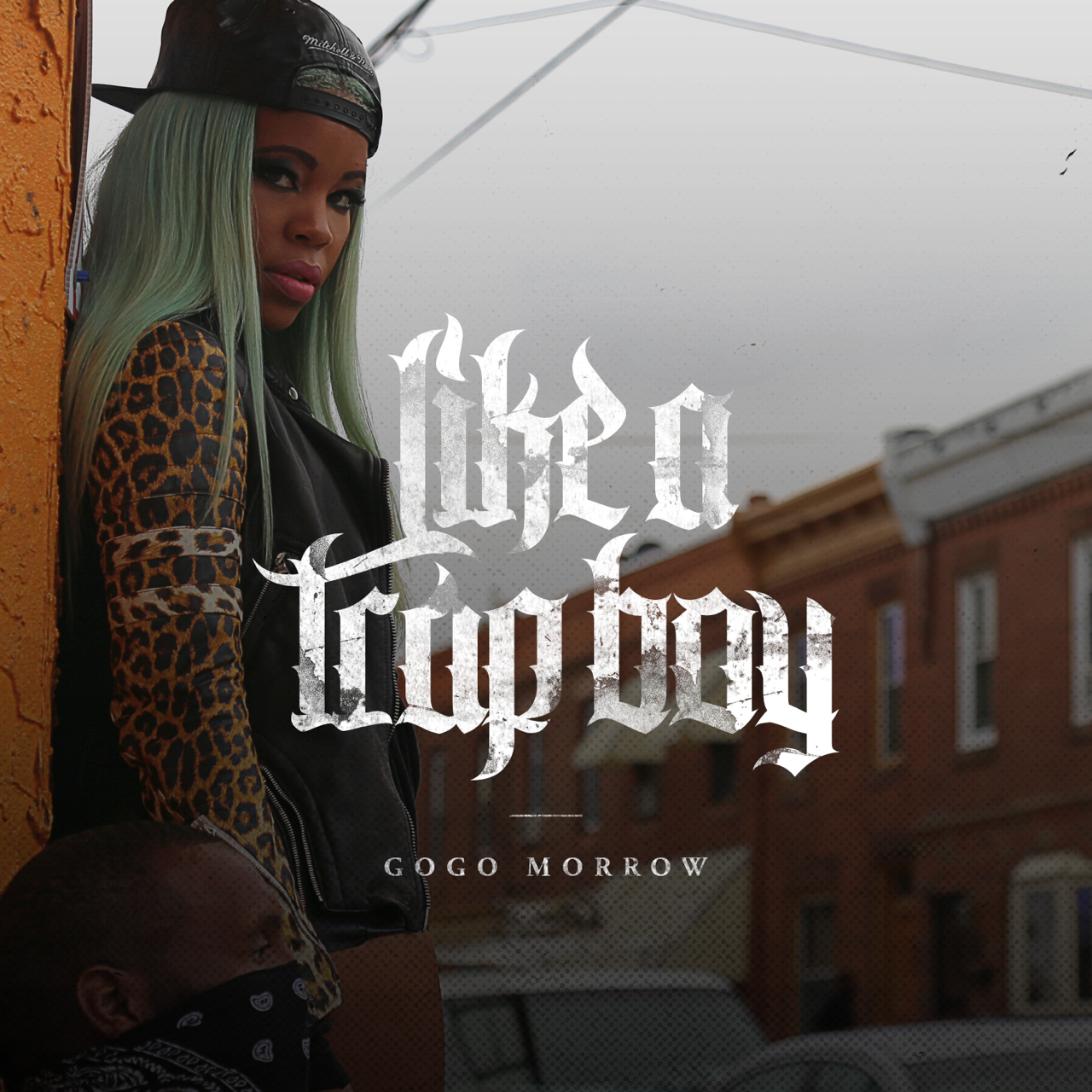 "GoGo Morrow's ""Like A Trap Boy"" cover art"