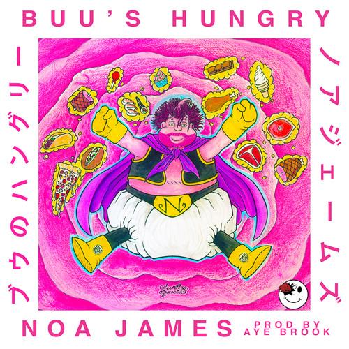 "Noa James' ""Buu's Hungry"" cover art"