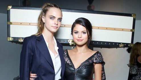 Cara Delevingne & Selena Gomez
