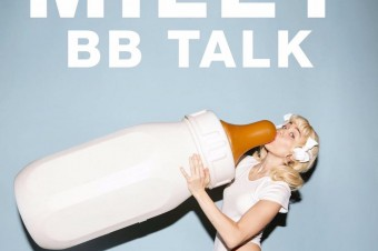 "Miley Cyrus uses ""BB Talk"" to communicate about love"