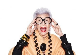<strong>Iris Apfel</strong> launches line of wearable tech