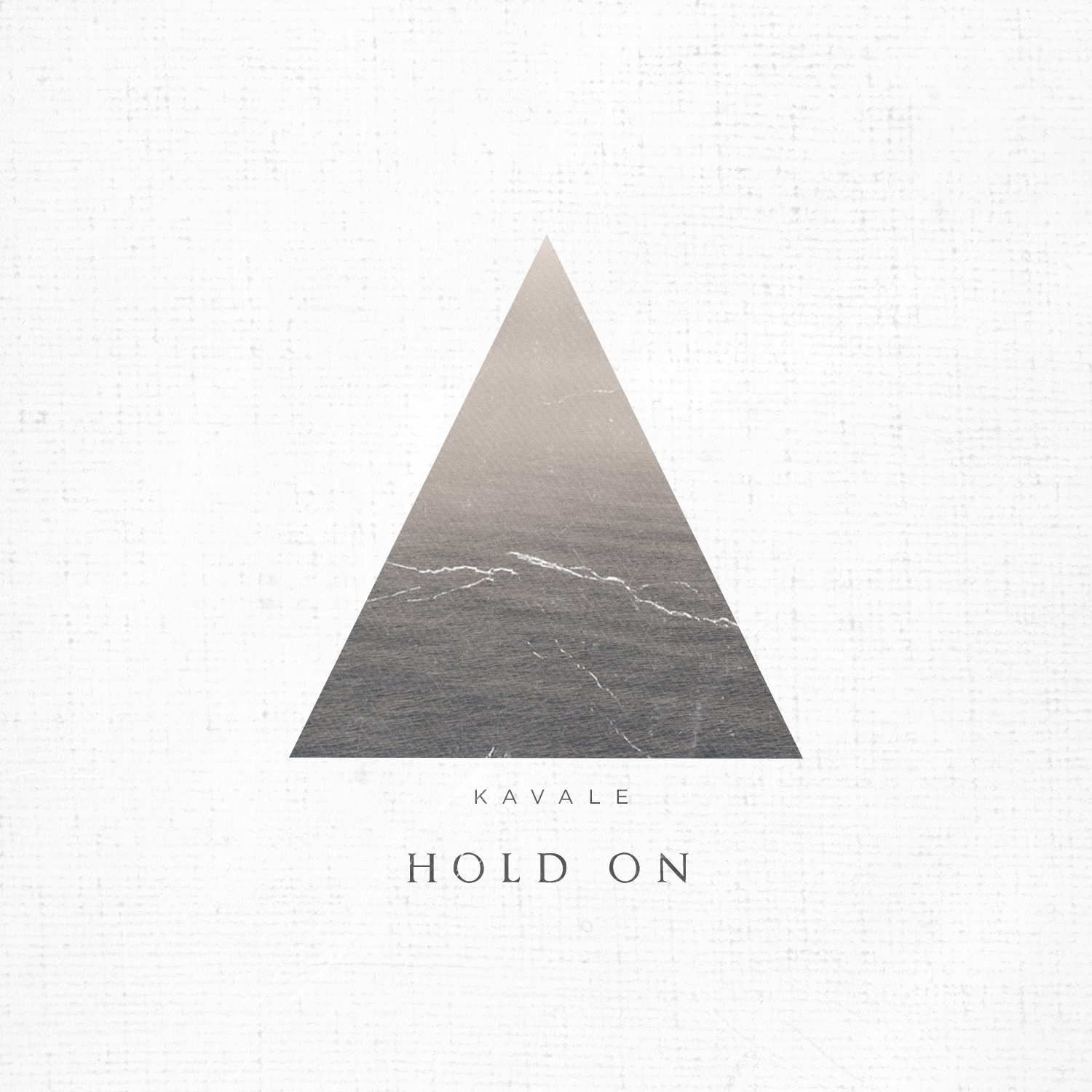"KAVALE's ""Hold On"" cover artwork"