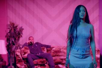 "Watch Rihanna & Drake in both videos for ""Work"""