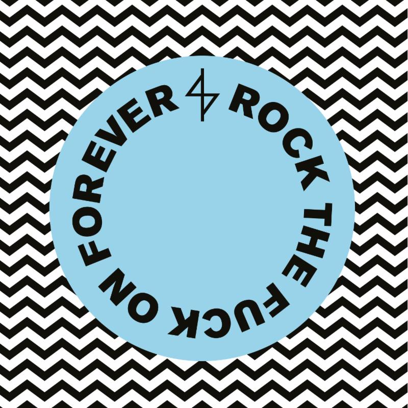 """Angel Du$t's """"Rock The Fuck On Forever"""" album artwork"""