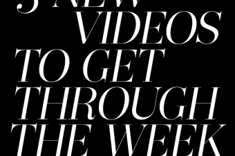 #5NewVideos To Get You Through The Week: 5