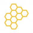 Bumble app (honeycomb)