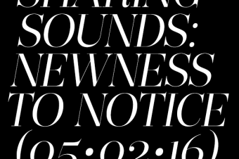 Sharing Sounds: New music you should notice (May 2)