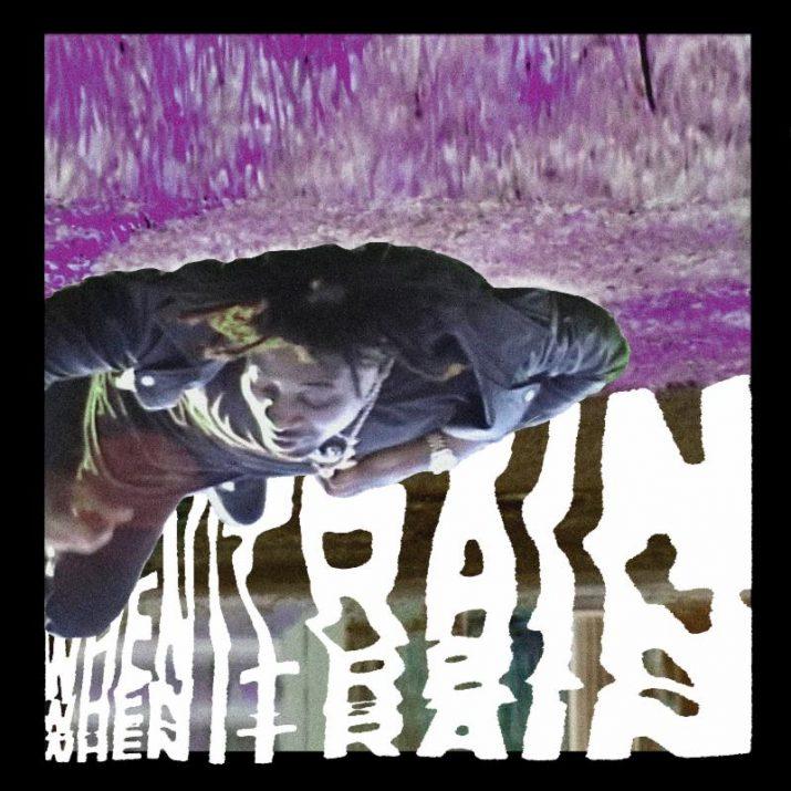 """Danny Brown's """"When It Rain"""" cover art"""
