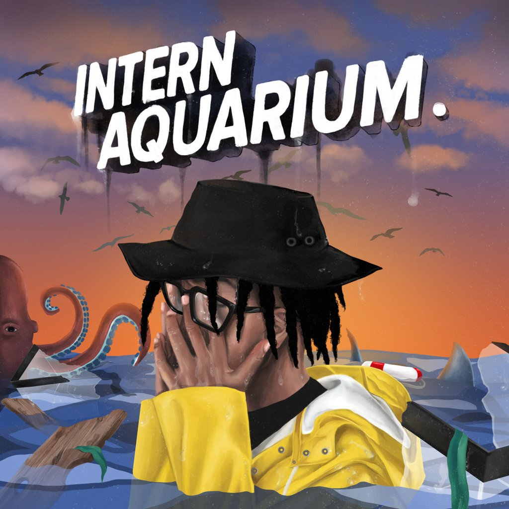 "Khary's ""Intern Aquarium"" cover art"