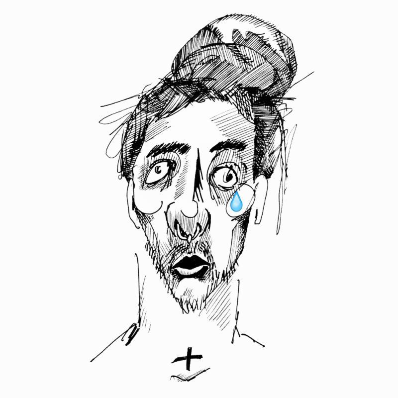 "Towkio's ""Tear Drop"" cover art"